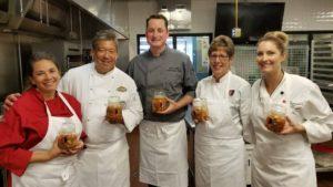 5 cooks holing jars