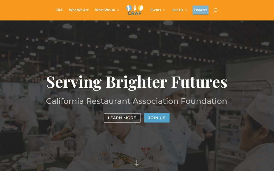 CRAF Website Gets a Makeover with the Help of Online Restaurant Manager