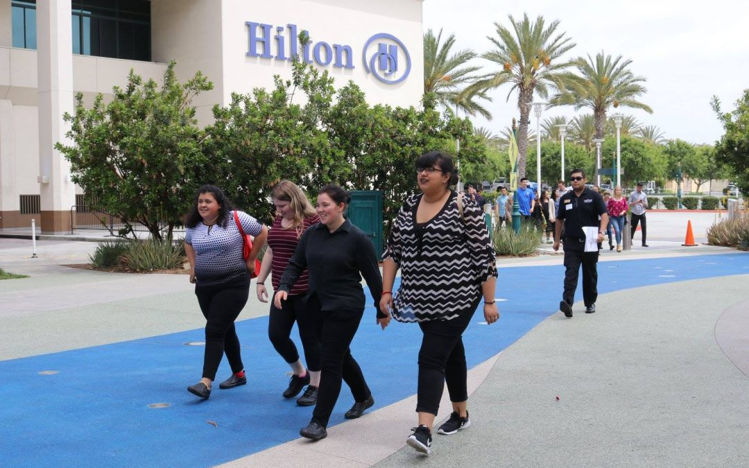 Learn by Doing – ProStart Students Tour Top Hospitality Venues in Anaheim