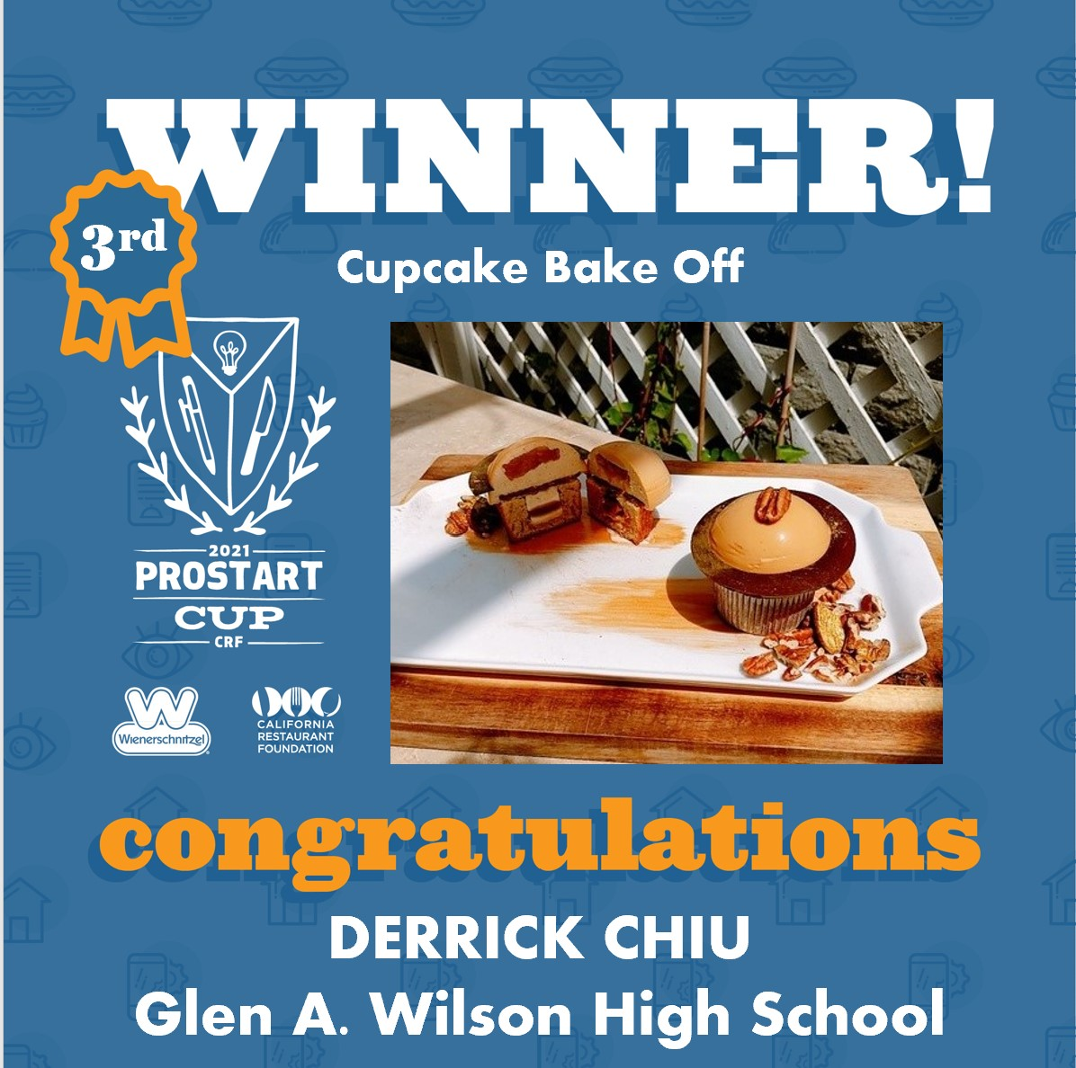 2021 ProStart Winner - Cupcake Back Off - 3rd Place