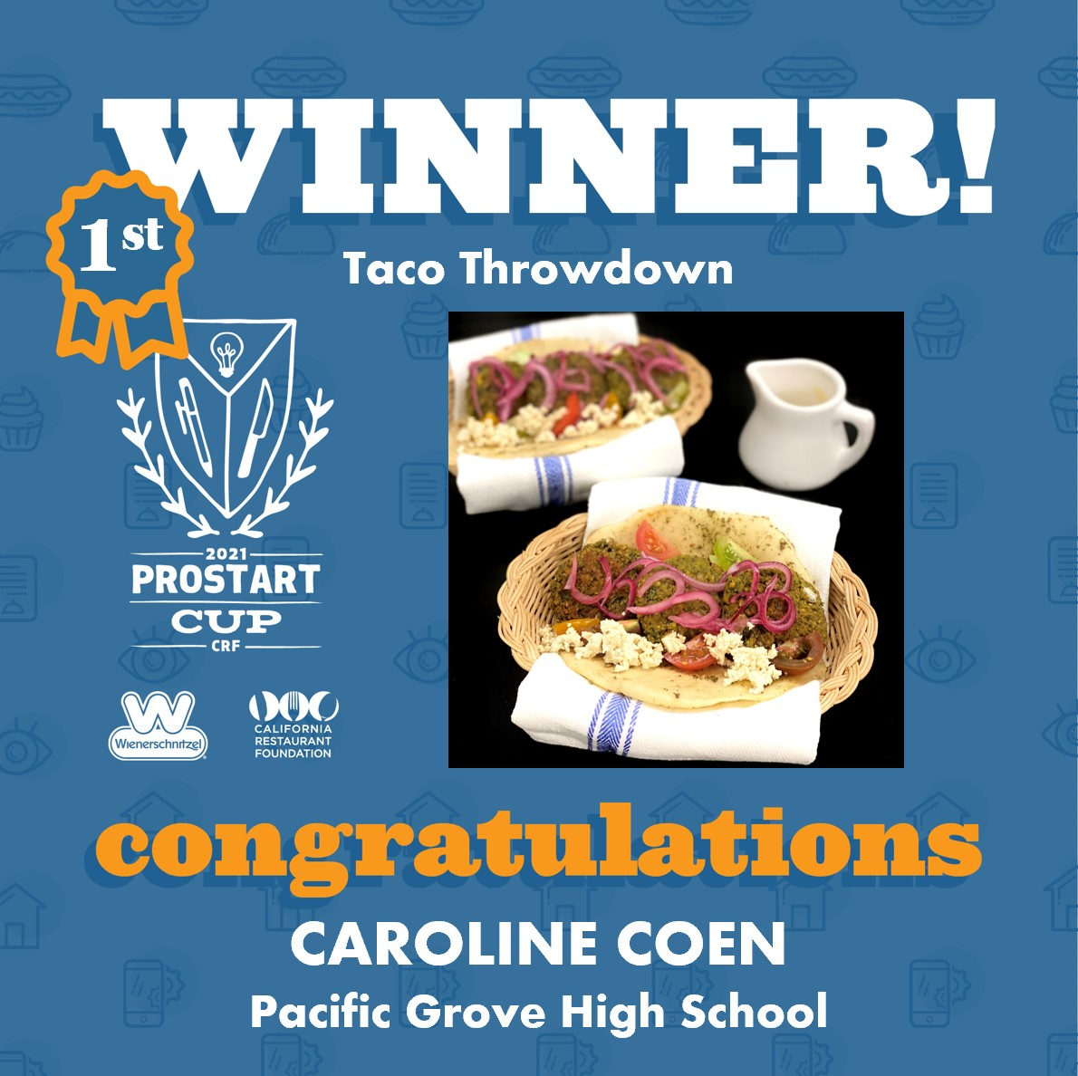 2021 ProStart Winner - Taco - 1st Place