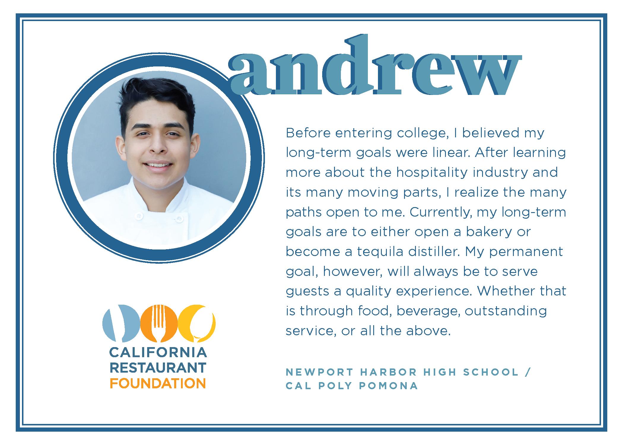 2021 Student Testimonials - Andrew