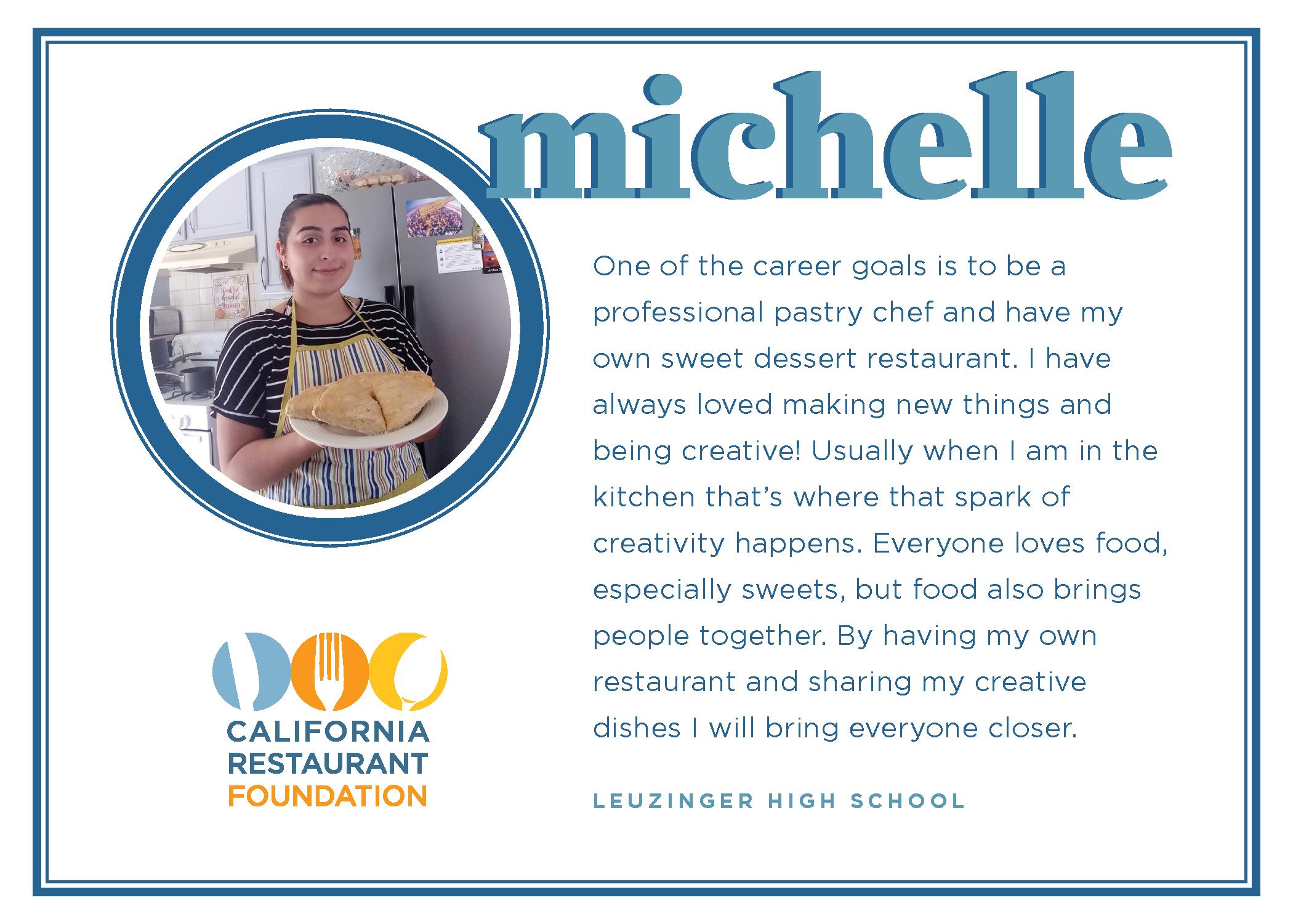 2021 Student Testimonials - Michelle
