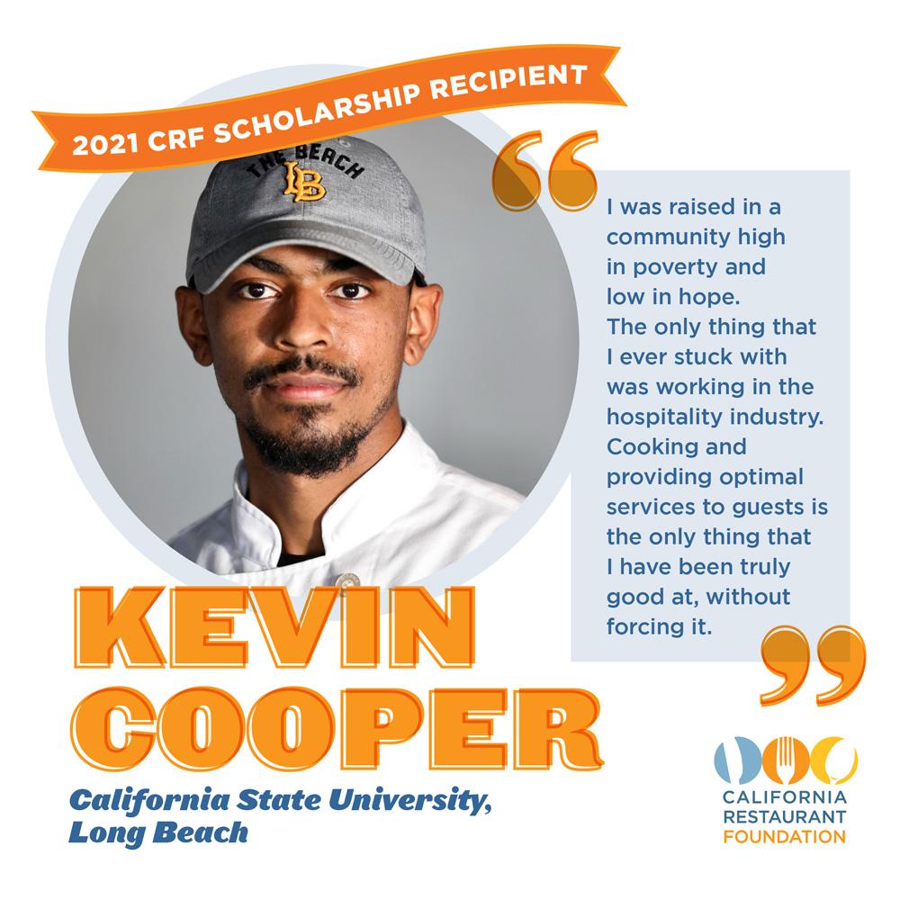 Kevin Cooper 2021 Scholar